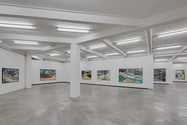 Maki Na Kamura, Eintelausstellung: Falkenrot Preis 2013, Künstlerhaus Bethanien Berlin, November 2013, Foto: David Brandt