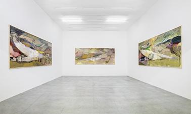 """Maki Na Kamura Einzelausstellung: """"o lala, von was für glänzenden liebhabereien ich träumte"""" Oldenburger Kunstverein Oldenburg, September 2014 Foto: Roman März"""