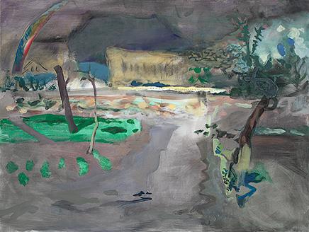 PML VI, 2008, Öl auf Leinwand, 120 x 160 cm, Courtesy JIRI SVESTKA GALLERY